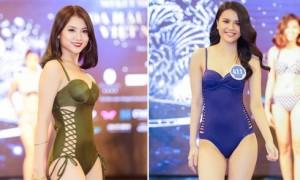 Thí sinh Hoa hậu Đại dương khoe dáng nuột nà với bikini