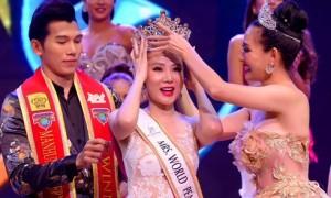 Dương Yến Ngọc giành giải Hoa hậu Quý bà Hòa bình châu Á