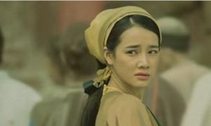 Nhã Phương đóng phim cổ trang