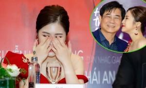Hương Tràm khóc nghẹn khi bố nhắc lại tai tiếng của cô với Thu Minh