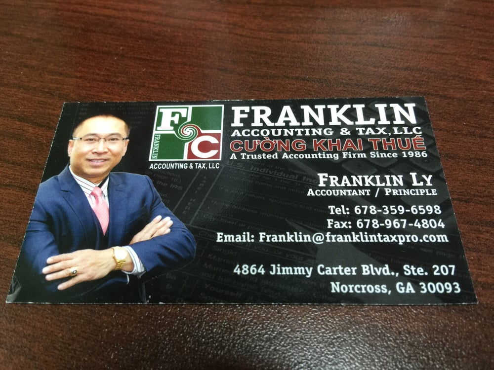 FRANKLIN  ACCOUNTING & TAX SERVICES