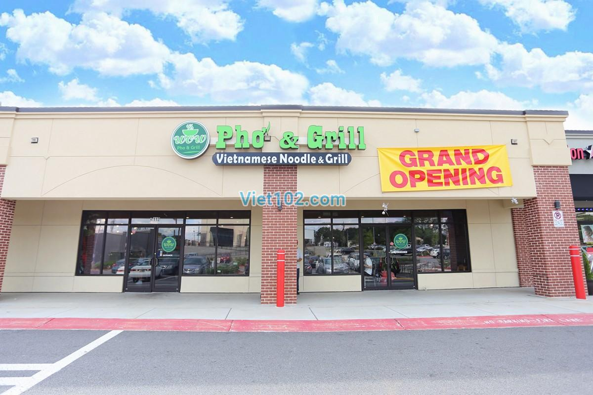 Wow Pho & Grill